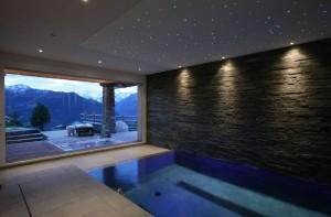 Chalet Spa Pool