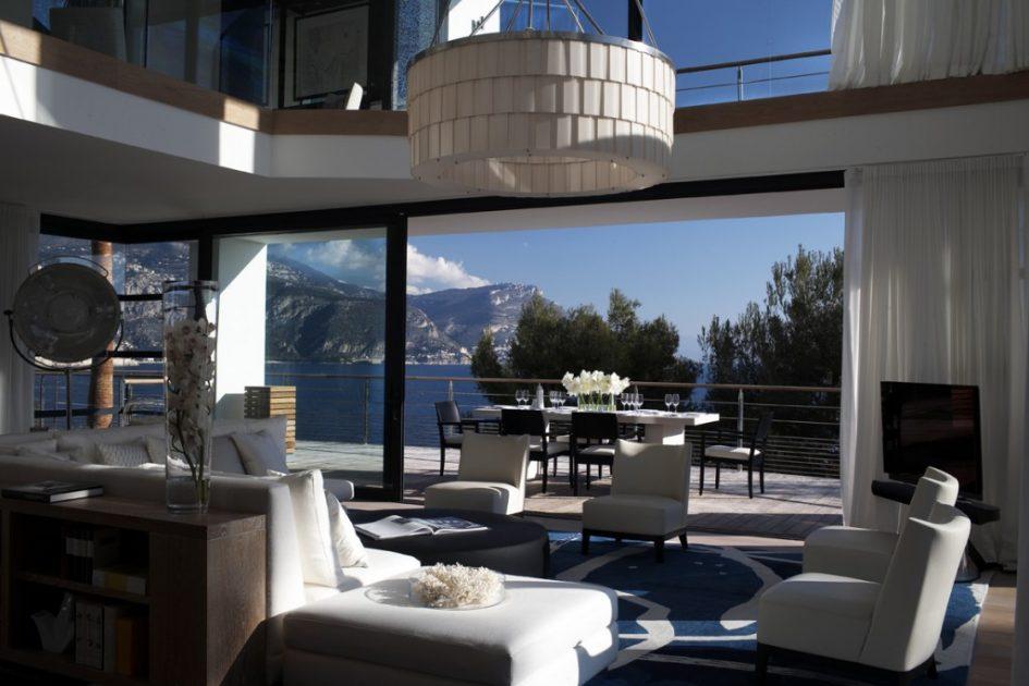 Villa Cap Ferrat - Salon