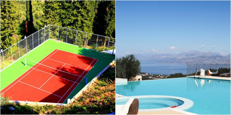Villa Arianna, Corfu