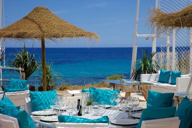 restaurants in North Ibiza, beach restaurants North Ibiza, Ibiza beach bars