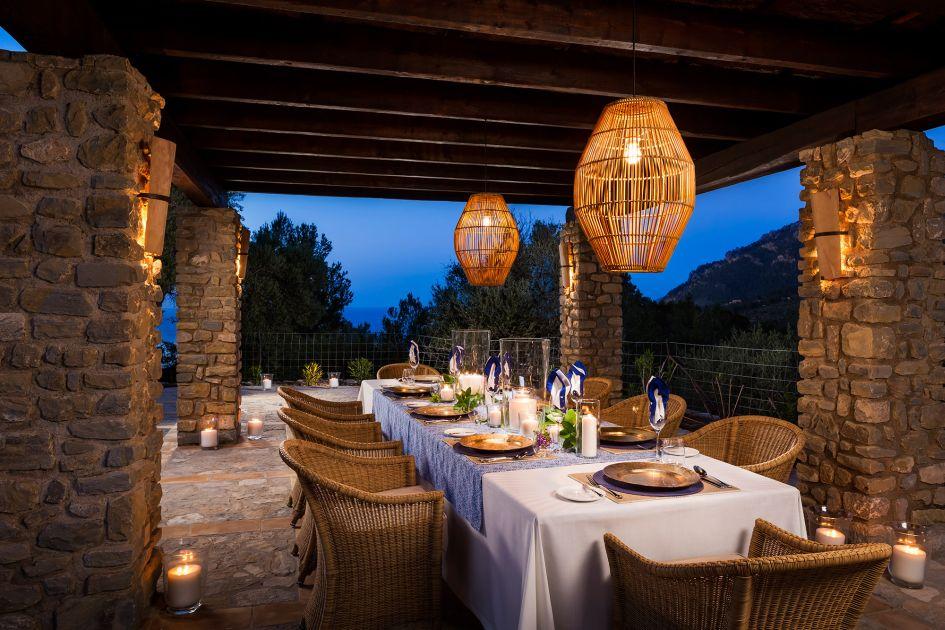 Dining at Son Balagueret
