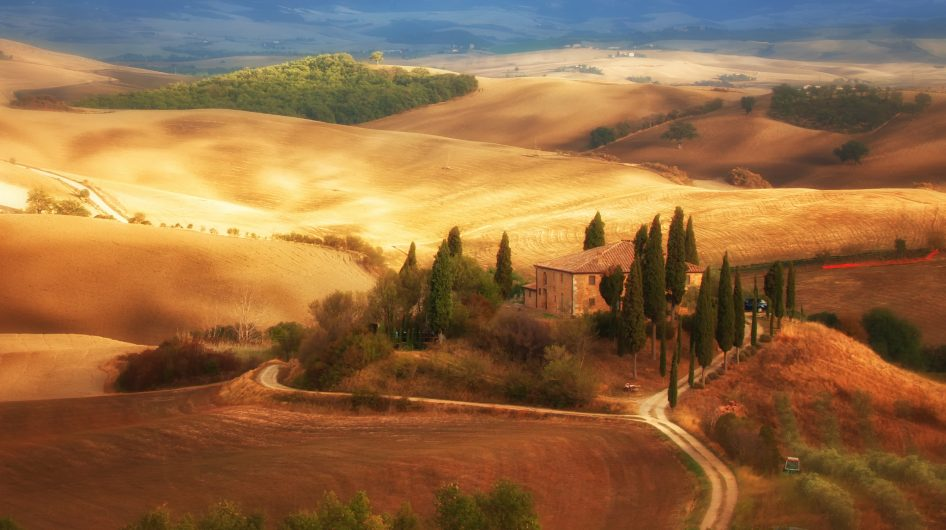 Tuscany Countryside in Autumn